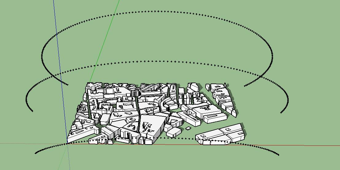 Drawing Sun Paths – Métrologie des ambiances urbaines